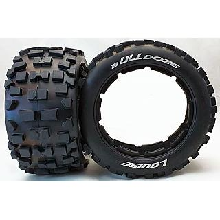 Louise 1/5 Baja 5B Rear B-ulldoze Tyres & Inserts 2Pcs 24mm Hex