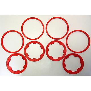 1/5th Baja Beadlock set Inner & Outer RED