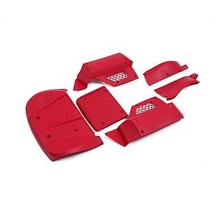 Big Flex Body Panels RED 6pce fit Losi 5iveT Rovan LT KM X2 D