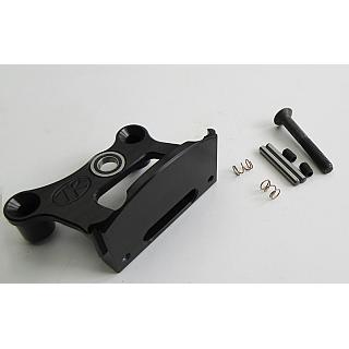 Brake Mount Billet BLACK 1 piece by Turtle Racing 1341
