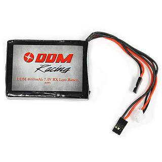 Baja Lipo Battery 4000mAh 7.4v RX Pack by DDM fit 5B 5T SC HPI P