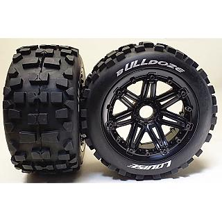 Louise 1/5 Baja 5B Rear B-ulldoze Wheels & Tyres 2Pcs 24mm Hex H