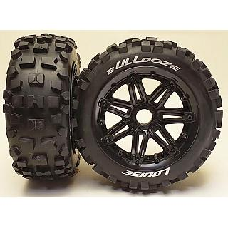 Louise 1/5 Baja 5B Front B-ulldoze Wheels & Tyres 2Pcs 24mm Hex