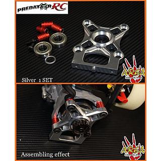 Losi DBXL Clutch Carrier & Bearings Silver by Area RC