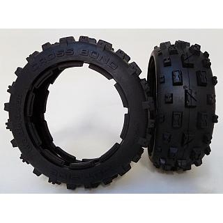 5B Baja Cross Bond Knobby Tyres Front HD by MadMax