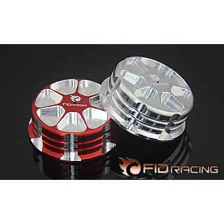 Losi DBXL Gas Cap with one Way Valve by FID Silver