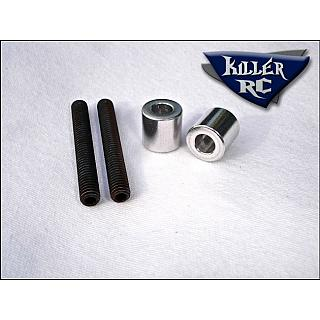 Baja Rear Turnbuckles HD 12mm by Killer RC 5B 5T