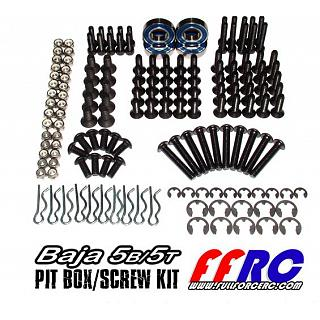 Baja Pit Box Kit Parts & Screws 164pcs for Baja 5B 5T FullForce
