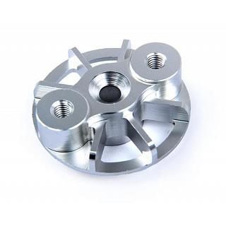 Finned Cooling Clutch Plate Silver F5M