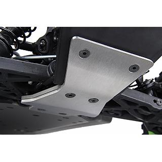 Rovan LT & Losi5 Front Skid Plate Stainless Steel HD mm DTT