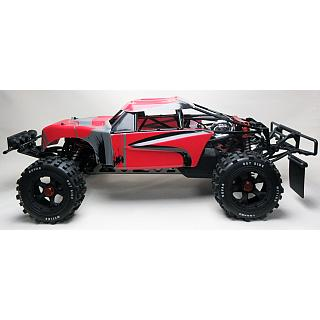 32cc 320FT 4 Bolt Baja  4+HP Tuned Pipe Alloy walbro