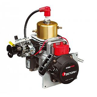 Zenoah 29.5 cc Marine Engine G300PUM with Carby & Pullstart