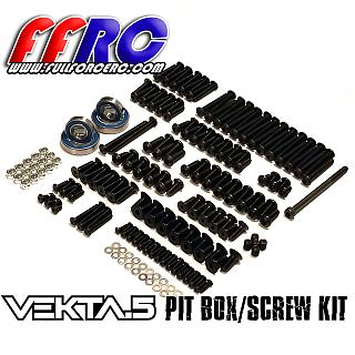Vekta.5 Pit Box / Screw Kit by Full Force for Kraken Vekta.5