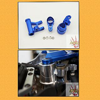 Steering Arm Blue by Area RC Losi 5ive