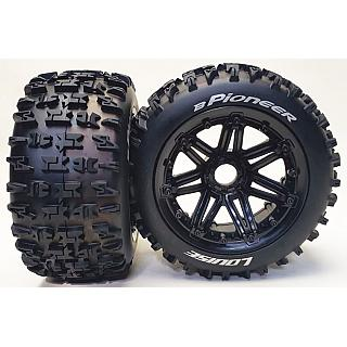 Louise 1/5 Baja 5B Rear B-Pioneer Wheels & Tyres 2Pcs 24mm Hex H