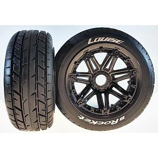 Louise 1/5 Baja 5B Front B-Rocket Sport Wheel & Tyres Set 2Pcs