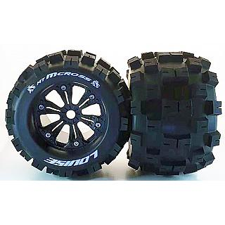 Louise 1/8  MT-Mcross Wheels & Tyres (2) 13mm Offset fit 17mm