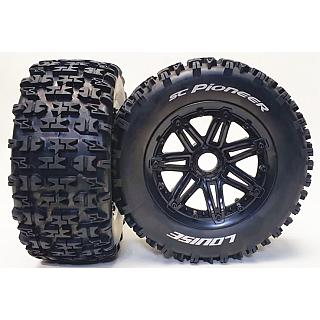 Louise 1/5 Rear/Front SC-Pioneer Wheels & Tyres (2) Losi HPI RV