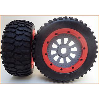 Clearance LT Wheels & Reaper Style Tyres on 10 Spoke Wheels (2)