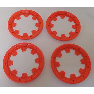 Baja BeadLock Outer x4 Orange HD Nylon  by Madmax