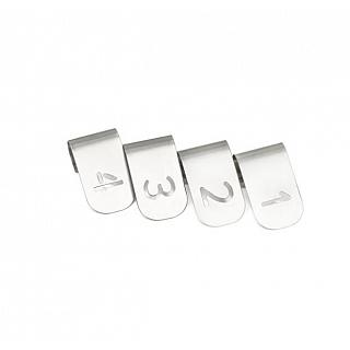 Meater Probe ID Clips x4 Stainless Steel