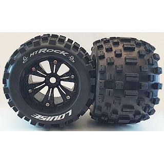 "Louise 1/8 Louise MT Rock 96.5mm 3.8"" Tyres 17mm Hex 12mm Offset"