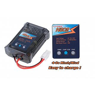 GT Power AC 2A 20W Fast Charger AC for 4.8v 6.0v 7.2v 9.6v Tamiy