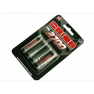 Team Orion AA 1.25v  Batteries 2700 Mah NiMh  (4)
