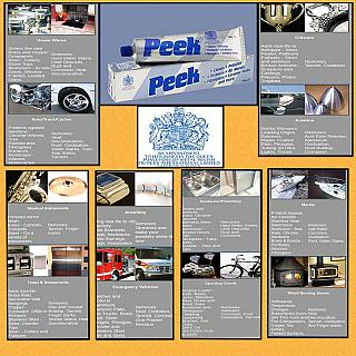 PEEK Metal Polish & Cleaner for RC Car Marine Home Industry 101