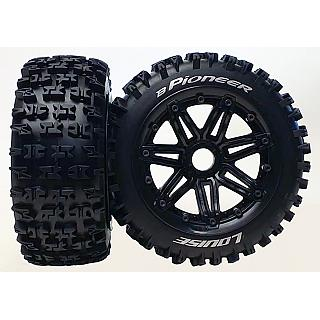 Louise 1/5 Baja 5B Front B-Pioneer Wheels & Tyres 2Pcs 24mm Hex