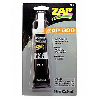 Zap Goo PT12 All purpose Adhesive & Sealant 29.5ml Hobby Craft H