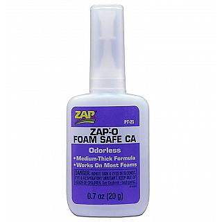 Zap-O Foam Safe CA Instant Adhesive 20g odourless