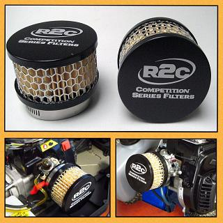 R2C Losi 5ive Air Filter Competition Series Short Stack by R2C