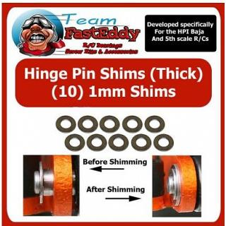 Hinge Pin Shims 1mm by TeamfastEddy