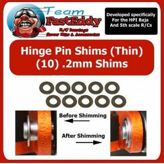 Hinge Pin Shims 0.2mm by TeamfastEddy