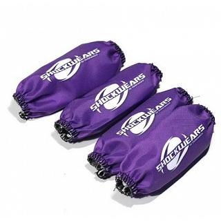 Losi Shockwears Shock Covers Purple LOSI 5IVE DBXL LT DTT X2