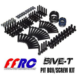 Losi 5ive Pit Box Kit Parts & Screws 163pcs by FullForce