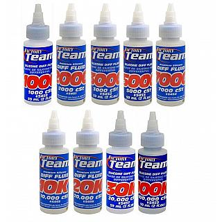 Silicone Diff Fluid 3000 cst 3K by Factory Team Assoiated