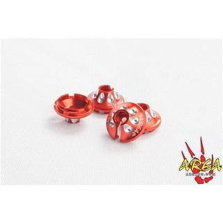 Losi DBXL Spring Perch x 4 Billet RED Area RC