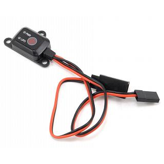 ProTek RC Electronic on /Off Switch with Voltage Cutoff