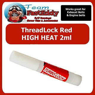 Thread locker High Heat Red