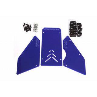 Front Windows Set BLUE for Baja 5B by FullForce