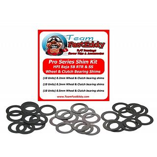 Baja Shim Kit Pro Series TFE for Wheels & Clutch Bell