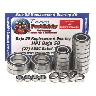 Bearing Kit 5B 5T SC Replacement Set (25)by Team FastEddy