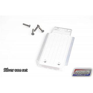 TRAXXAS X-MAXX Rear Skid Plate Alloy Silver by Area RC