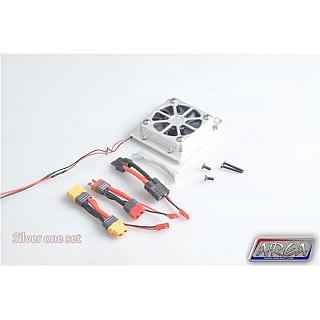 TRAXXAS X-MAXX Motor Cooling Fan High Output Silver