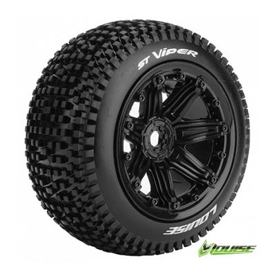 Louise 1/8 ST-Viper Truggy  Wheels & Tyre (2) 17mm Trax Arrma 2