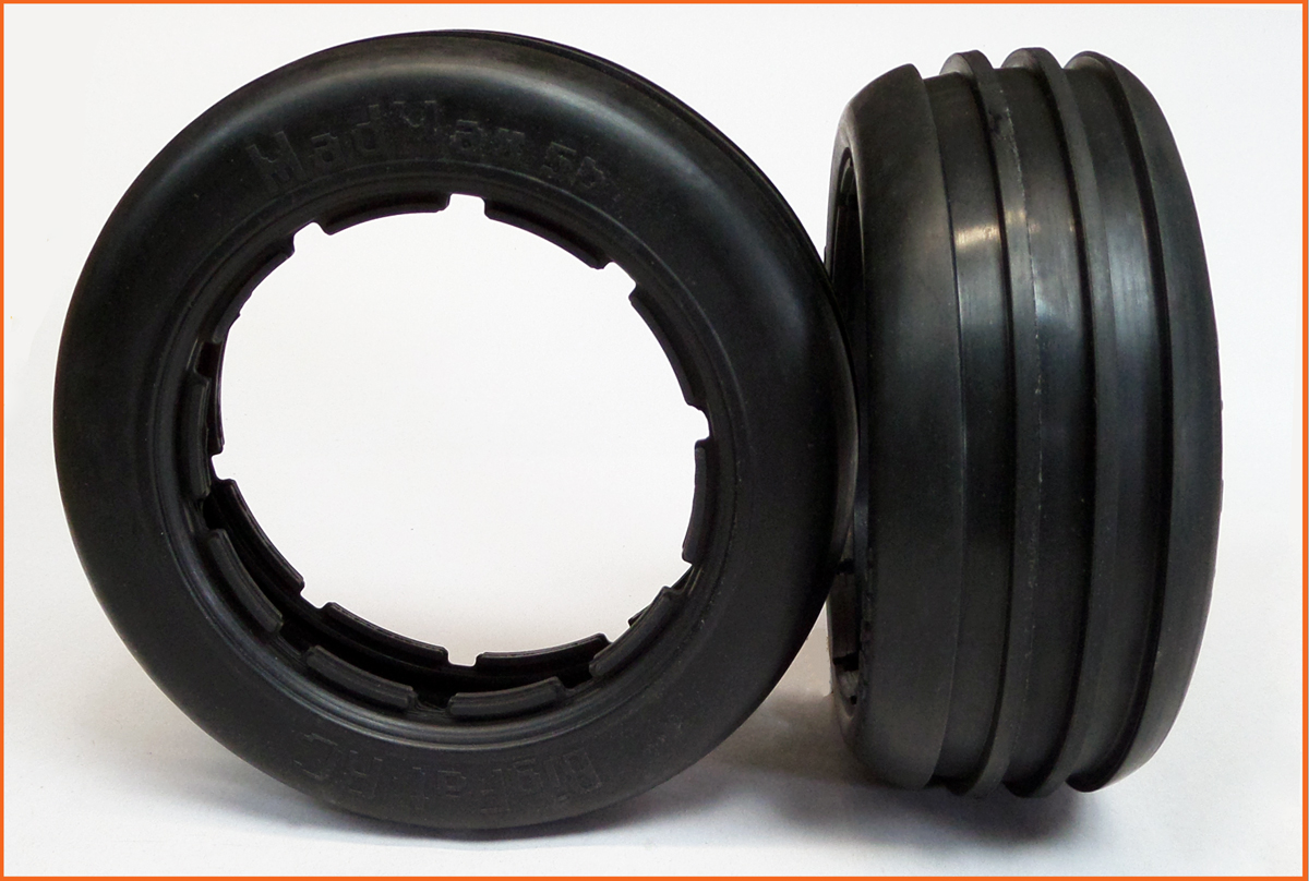 5B Baja Twin Blade Tyres FRONT HD Oval Speedway Racing